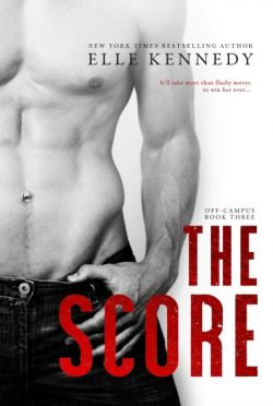 Cover Reveal: The Score (Off-Campus #3) by Elle Kennedy