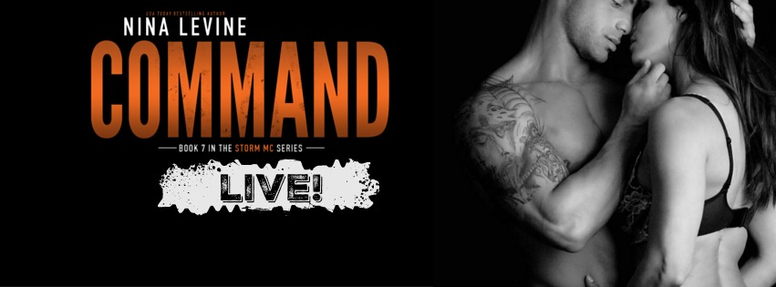 Release Day Blitz Giveaway Command Storm Mc 7 By Nina Levine