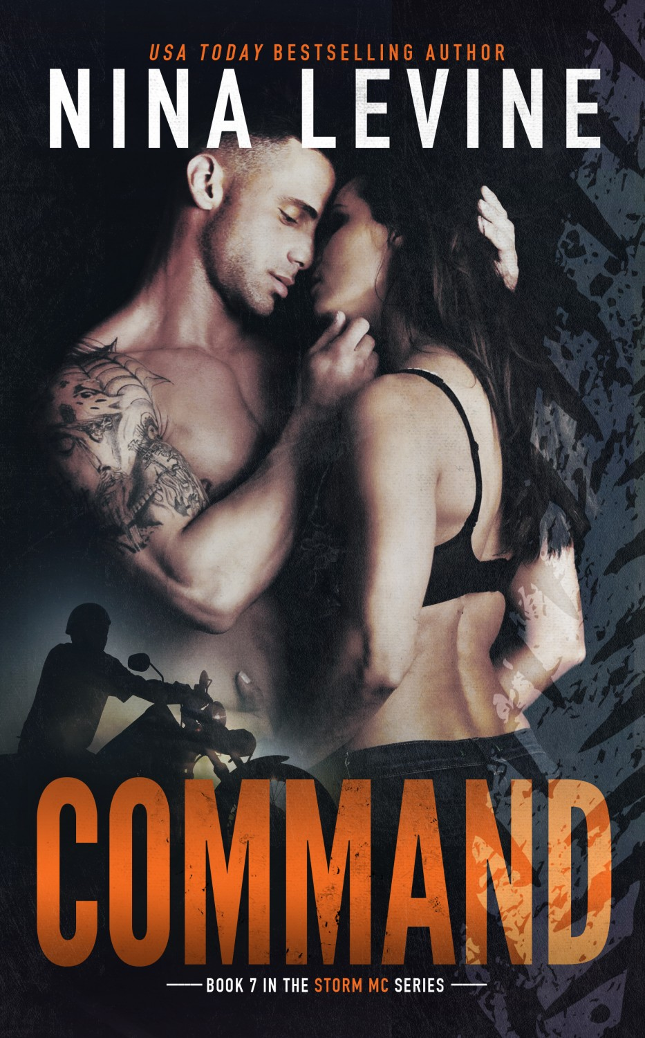 Command Book Cover Nina Levine