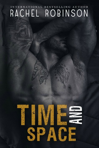 Cover Reveal: Time and Space (Crazy Good #3) by Rachel Robinson