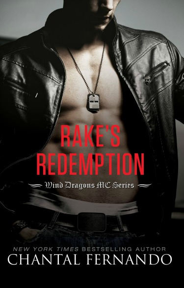Cover Reveal: Rake's Redemption (Wind Dragons MC, #4)  by Chantal Fernando