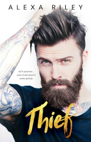 Cover Reveal: Thief (Breeding #3) by Alexa Riley