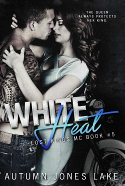Cover Reveal & Giveaway: White Heat (Lost Kings MC #5) by Autumn Jones Lake