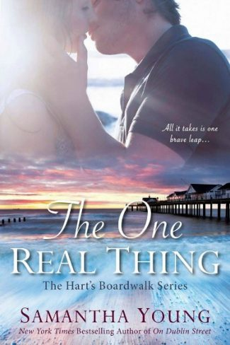 Cover Reveal: The One Real Thing (Hart's Boardwalk #1) by Samantha Young