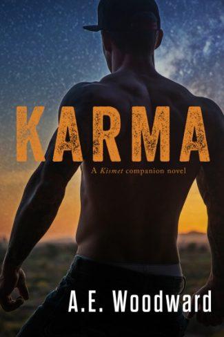 Cover Reveal: Karma (Kismet #2) by AE Woodward