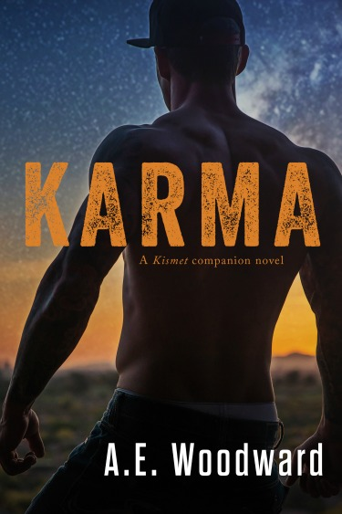 Cover Reveal: Karma (Kismet #2) by AE Woodward