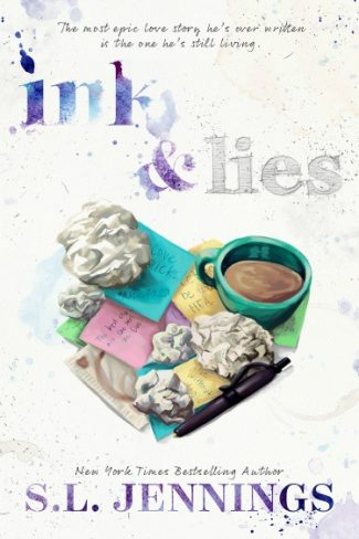 Cover Reveal + Giveaway: Ink & Lies by SL Jennings