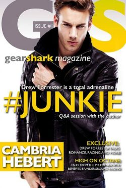 Release Day Blitz + Giveaway: #Junkie (GearShark #1) by Cambria Hebert