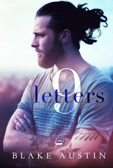 Cover Reveal: Nine Letters by Blake Austin
