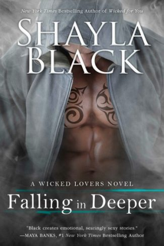 Cover Reveal: Falling in Deeper (Wicked Lovers #11)  by Shayla Black