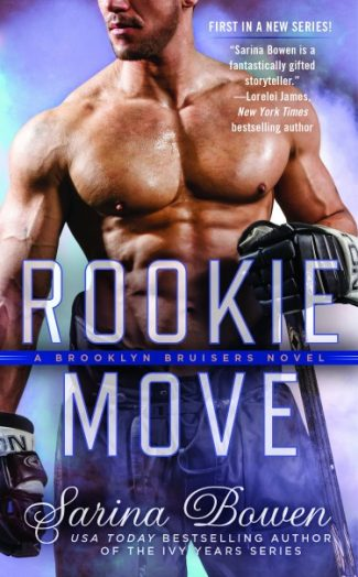Cover Reveal + Giveaway: Rookie Move (Brooklyn Bruisers #1) by Sarina Bowen