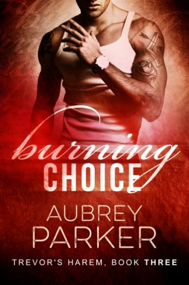 Release Day Blitz + Giveaway: Burning Choice (Trevor's Harem #3) by Aubrey Parker