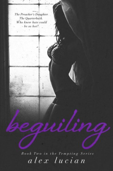 Cover Reveal: Beguiling (Tempting #2) by Alex Lucian