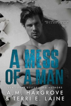 Cover Reveal: A Mess of a Man by Terri E Laine & AM Hargrove
