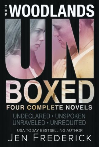 Release Day Blitz: Unboxed: The Woodlands Box Set (Woodlands #1-4) by Jen Frederick