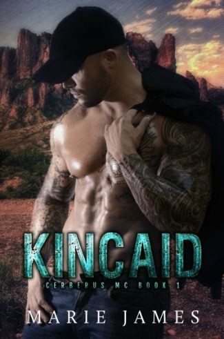 Cover Reveal + Giveaway: Kincaid (Cerberus MC #1) by Marie James
