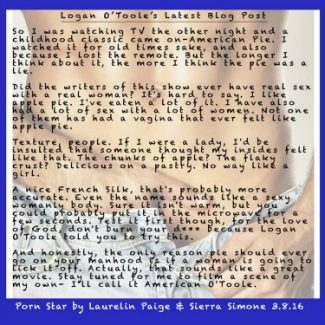Blurb Reveal + Giveaway: Porn Star by Laurelin Paige & Sierra Simone