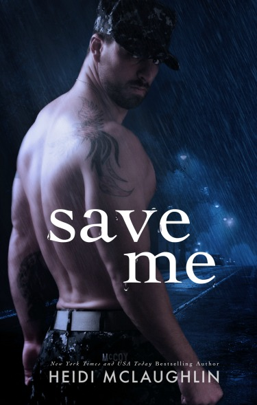 Cover Reveal: Save Me (The Archer Brothers #3)  by Heidi McLaughlin