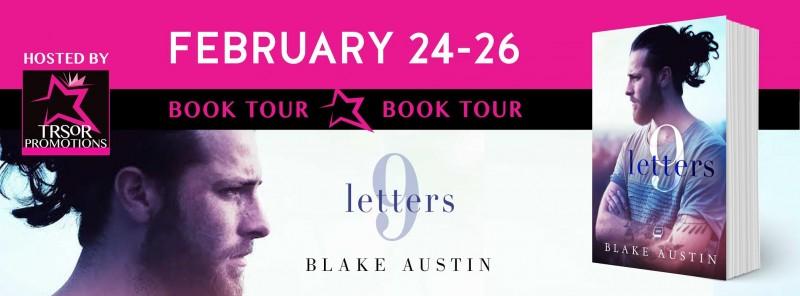 9 LETTERS BOOK TOUR