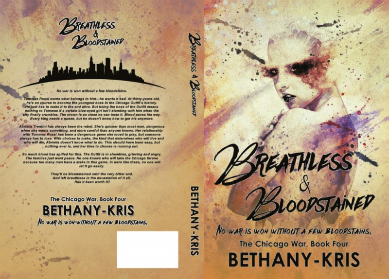 Breathless & Bloodstained Full Jacket Cover