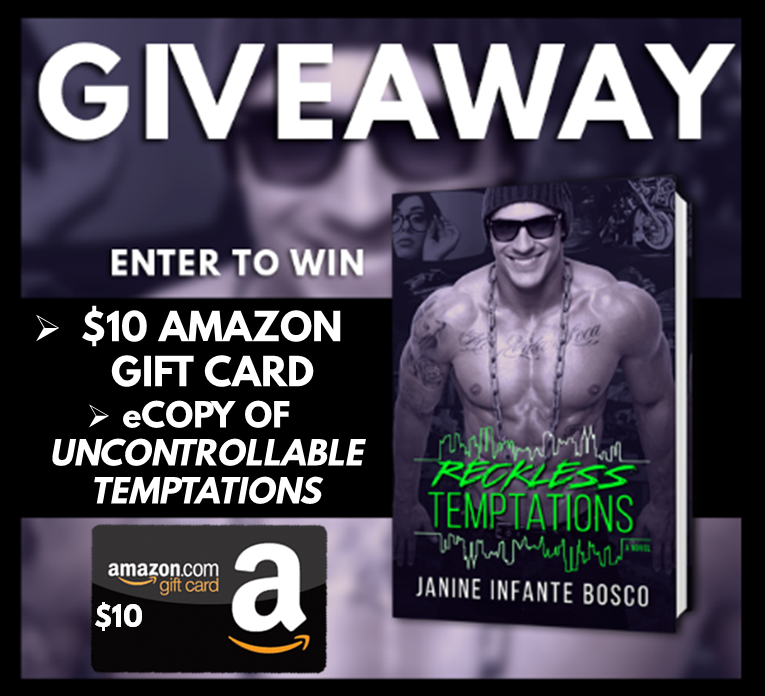 Reckless Temptations CR Giveaway Graphic