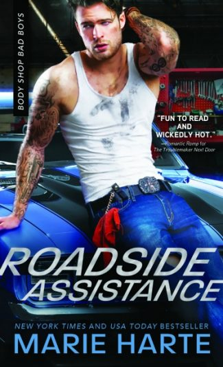 Cover Reveal + Giveaway: Roadside Assistance (Body Shop Bad Boys #2) by Marie Harte