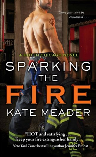 Cover Reveal: Sparking the Fire (Hot in Chicago #3) by Kate Meader