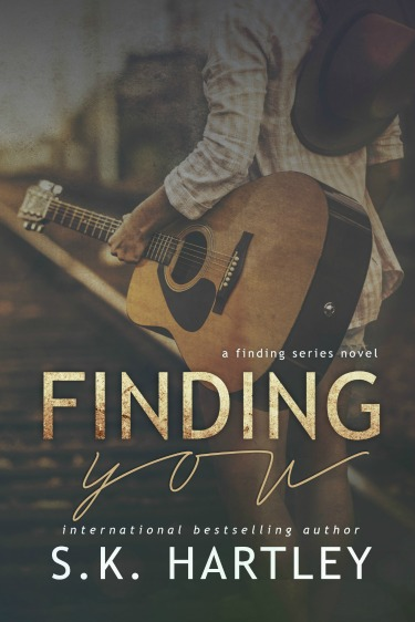 Cover Re-Reveal: Finding You (Finding #1) by SK Hartley
