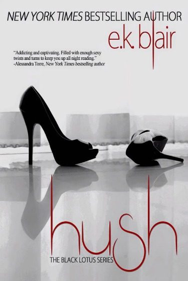 Cover Reveal: Hush (Black Lotus #3) by EK Blair