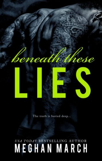 Review: Beneath These Lies (Beneath #5) by Meghan March