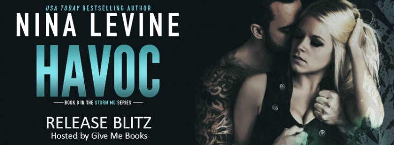 Release Day Blitz Giveaway Havoc Storm Mc 8 By Nina Levine