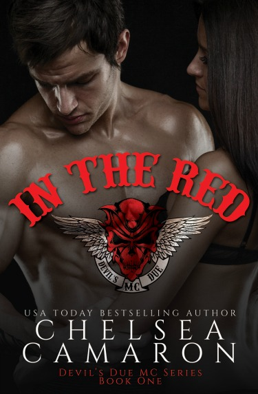 Cover Reveal: In The Red (Devil's Due MC #1) by Chelsea Camaron