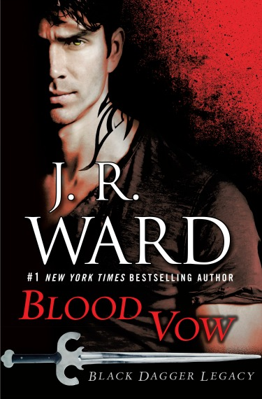 Cover Reveal: Blood Vow (Black Dagger Legacy #2) by JR Ward