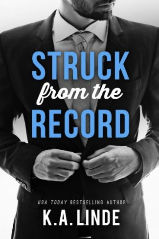Cover Reveal: Struck from the Record (Record #4) by KA Linde