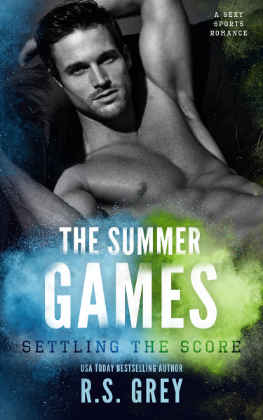 Cover Reveal: Settling the Score (The Summer Games #1) by RS Grey