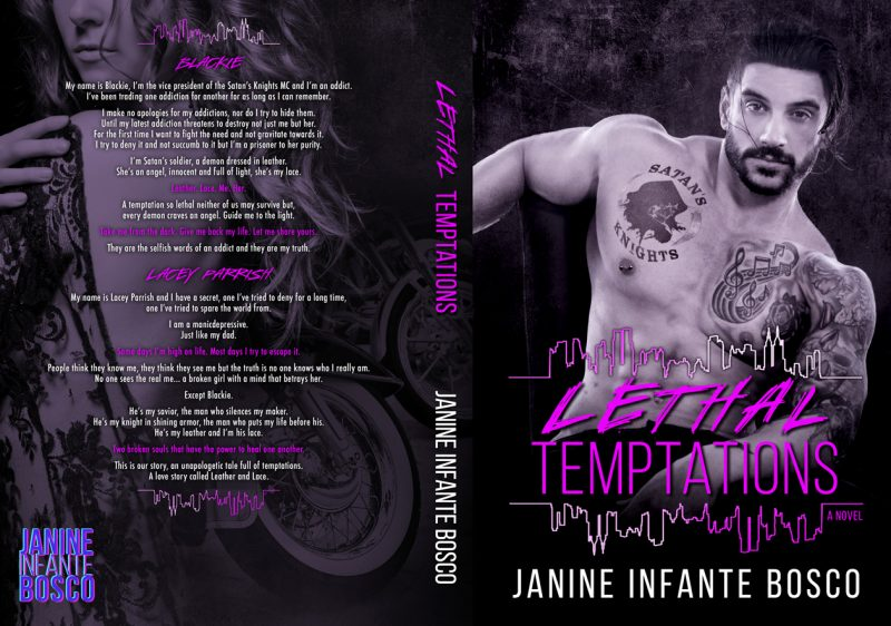 Lethal Temptations Full Jacket Cover