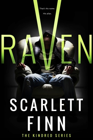 Cover Reveal: Raven (Kindred #1) by Scarlett Finn