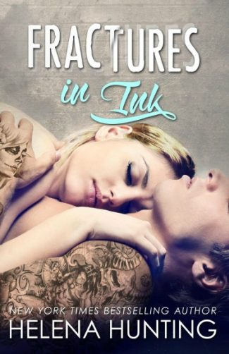 Cover Reveal: Fractures in Ink (Clipped Wings #3) by Helena Hunting