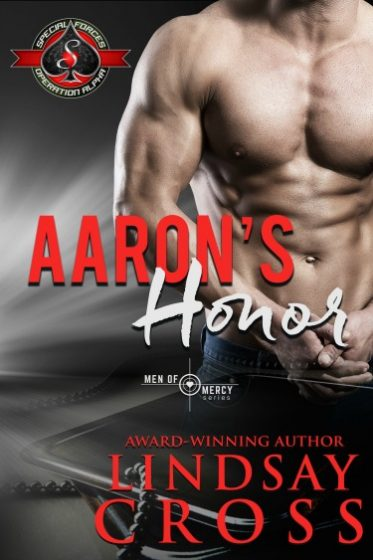 Cover Reveal + Giveaway: Aaron's Honor (Men of Mercy #8) by Lindsay Cross