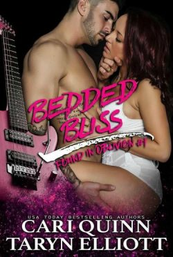 Cover Reveal: Bedded Bliss (Found in Oblivion #1) by Cari Quinn & Taryn Elliott