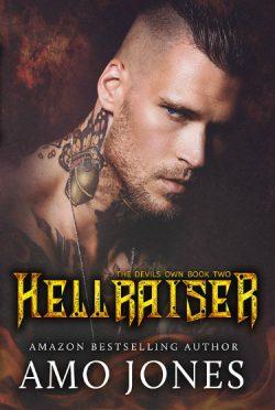 Cover Reveal: Hellraiser (The Devil's Own #2) by Amo Jones
