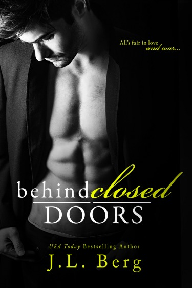 Cover Reveal + Giveaway: Behind Closed Doors by JL Berg