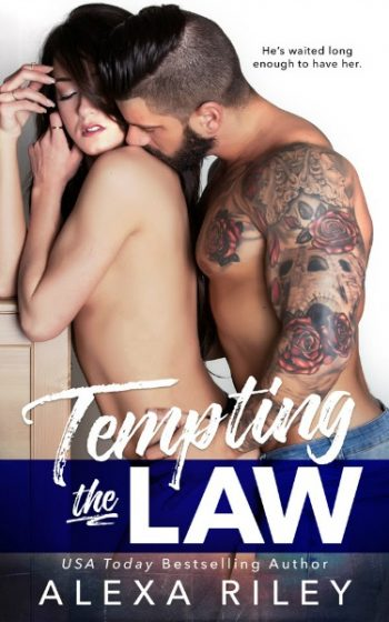 Cover Reveal: Tempting the Law by Alexa Riley