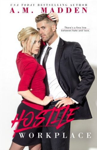 Cover Reveal + Giveaway: Hostile Workplace (Breaking the Rules #2) by AM Madden