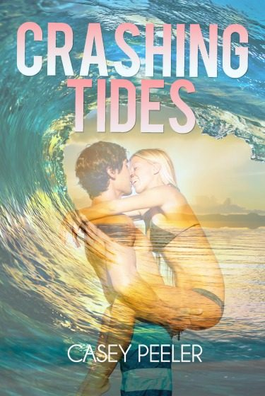 Cover Re-Reveal: Crashing Tides by Casey Peeler