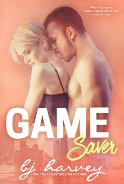 Cover Reveal + Giveaway: Game Saver (Game #3) by BJ Harvey