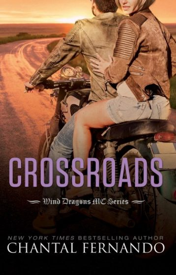 Cover Reveal: Crossroads (Wind Dragons MC #6) by Chantal Fernando