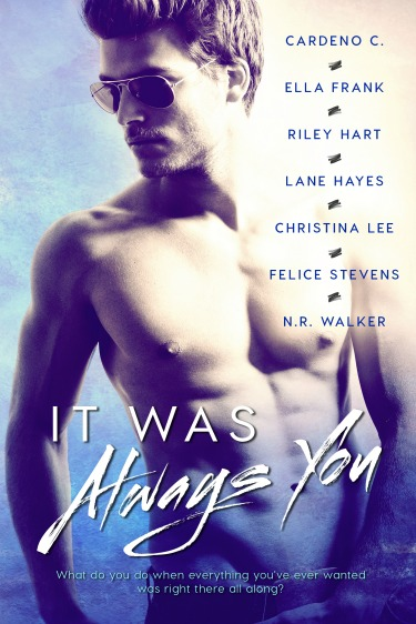 Cover Reveal: It Was Always You Anthology by Cardeno C, Ella Frank, Riley Hart, Lane Hayes, Christina Lee, Felice Stevens, & N R Walker