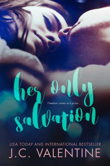 Cover Reveal + Giveaway: Her Only Salvation by JC Valentine