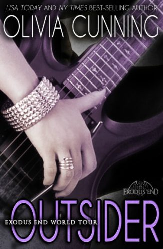 Cover Reveal: Outsider (Exodus End #2) by Olivia Cunning